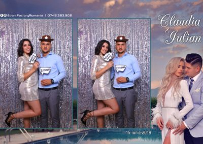 Cabina Foto Showtime - Magic Mirror - Nunta - Claudia & Iulian - Restaurant Paradis Ramnicu Valcea - Event Factory (97)