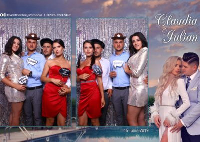Cabina Foto Showtime - Magic Mirror - Nunta - Claudia & Iulian - Restaurant Paradis Ramnicu Valcea - Event Factory (98)