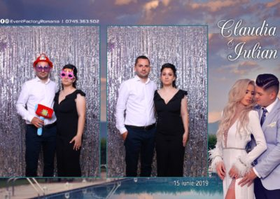 Cabina Foto Showtime - Magic Mirror - Nunta - Claudia & Iulian - Restaurant Paradis Ramnicu Valcea - Event Factory (99)