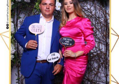 Cabina Foto Showtime - Magic Mirror - Nunta - Oana si Alex - Restaurant Posada Events Ramnicu Valcea - Event Factory (165)