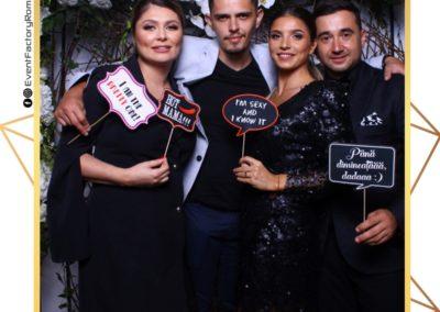 Cabina Foto Showtime - Magic Mirror - Nunta - Oana si Alex - Restaurant Posada Events Ramnicu Valcea - Event Factory (171)