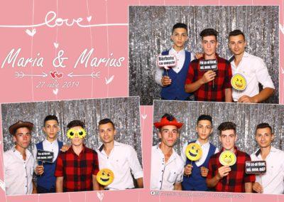 Cabina Foto Showtime - FUN BOX - Nunta - Maria & Marius - Restaurant OK Ballroom Ramnicu Valcea - Event Factory (11)