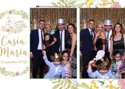 Cabina Foto Showtime - Magic Mirror - Botez - Casia Maria - Paradis Noblesse Ramnicu Valcea - Event Factory (14)