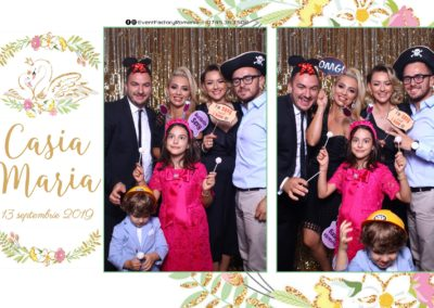 Cabina Foto Showtime - Magic Mirror - Botez - Casia Maria - Paradis Noblesse Ramnicu Valcea - Event Factory (30)