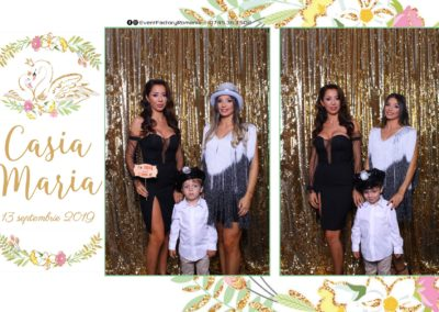 Cabina Foto Showtime - Magic Mirror - Botez - Casia Maria - Paradis Noblesse Ramnicu Valcea - Event Factory (4)