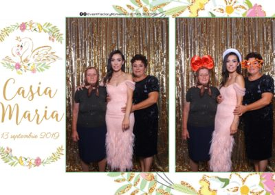 Cabina Foto Showtime - Magic Mirror - Botez - Casia Maria - Paradis Noblesse Ramnicu Valcea - Event Factory (79)
