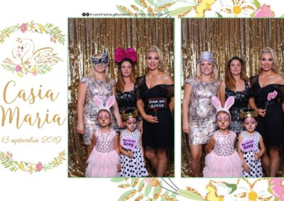Cabina Foto Showtime - Magic Mirror - Botez - Casia Maria - Paradis Noblesse Ramnicu Valcea - Event Factory (9)