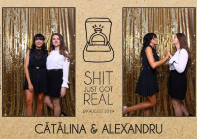 Cabina Foto Showtime - Magic Mirror - Cununie - Catalina & Alexandru - Stephany Ballroom Ramnicu Valcea - Event Factory (1)