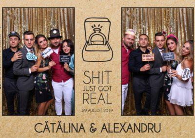 Cabina Foto Showtime - Magic Mirror - Cununie - Catalina & Alexandru - Stephany Ballroom Ramnicu Valcea - Event Factory (10)