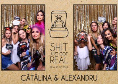 Cabina Foto Showtime - Magic Mirror - Cununie - Catalina & Alexandru - Stephany Ballroom Ramnicu Valcea - Event Factory (12)