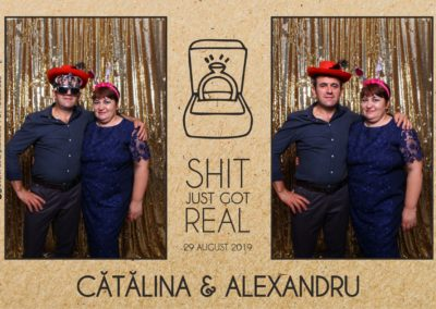 Cabina Foto Showtime - Magic Mirror - Cununie - Catalina & Alexandru - Stephany Ballroom Ramnicu Valcea - Event Factory (13)