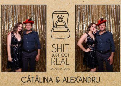 Cabina Foto Showtime - Magic Mirror - Cununie - Catalina & Alexandru - Stephany Ballroom Ramnicu Valcea - Event Factory (14)