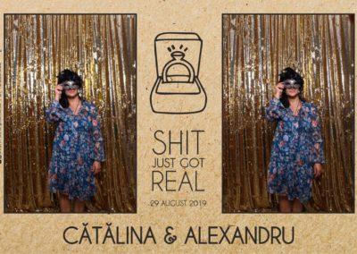 Cabina Foto Showtime - Magic Mirror - Cununie - Catalina & Alexandru - Stephany Ballroom Ramnicu Valcea - Event Factory (16)