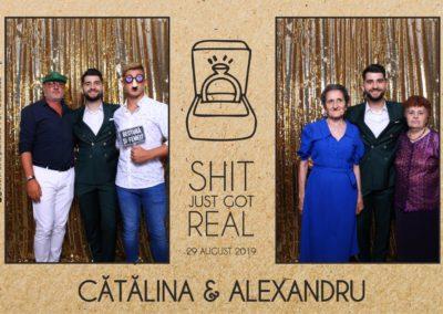 Cabina Foto Showtime - Magic Mirror - Cununie - Catalina & Alexandru - Stephany Ballroom Ramnicu Valcea - Event Factory (17)