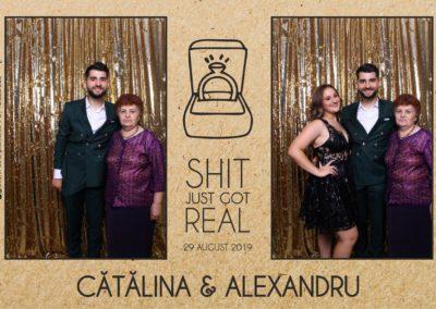 Cabina Foto Showtime - Magic Mirror - Cununie - Catalina & Alexandru - Stephany Ballroom Ramnicu Valcea - Event Factory (18)