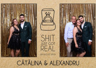 Cabina Foto Showtime - Magic Mirror - Cununie - Catalina & Alexandru - Stephany Ballroom Ramnicu Valcea - Event Factory (19)
