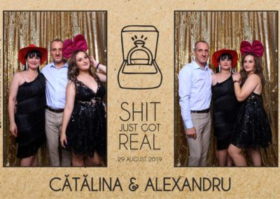 Cabina Foto Showtime - Magic Mirror - Cununie - Catalina & Alexandru - Stephany Ballroom Ramnicu Valcea - Event Factory (2)