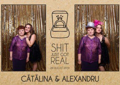 Cabina Foto Showtime - Magic Mirror - Cununie - Catalina & Alexandru - Stephany Ballroom Ramnicu Valcea - Event Factory (20)