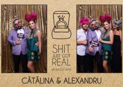 Cabina Foto Showtime - Magic Mirror - Cununie - Catalina & Alexandru - Stephany Ballroom Ramnicu Valcea - Event Factory (21)