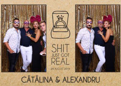 Cabina Foto Showtime - Magic Mirror - Cununie - Catalina & Alexandru - Stephany Ballroom Ramnicu Valcea - Event Factory (22)