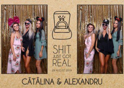 Cabina Foto Showtime - Magic Mirror - Cununie - Catalina & Alexandru - Stephany Ballroom Ramnicu Valcea - Event Factory (23)