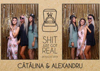Cabina Foto Showtime - Magic Mirror - Cununie - Catalina & Alexandru - Stephany Ballroom Ramnicu Valcea - Event Factory (24)