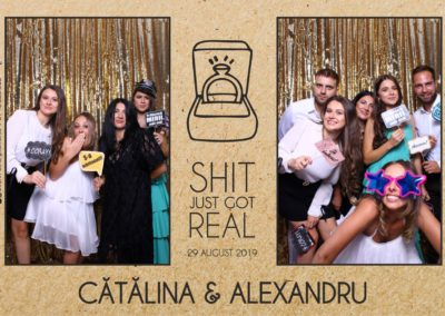 Cabina Foto Showtime - Magic Mirror - Cununie - Catalina & Alexandru - Stephany Ballroom Ramnicu Valcea - Event Factory (25)