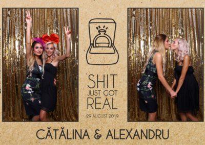 Cabina Foto Showtime - Magic Mirror - Cununie - Catalina & Alexandru - Stephany Ballroom Ramnicu Valcea - Event Factory (27)