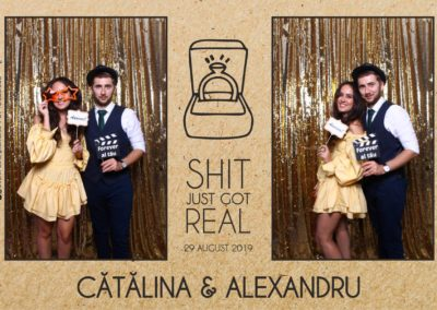 Cabina Foto Showtime - Magic Mirror - Cununie - Catalina & Alexandru - Stephany Ballroom Ramnicu Valcea - Event Factory (28)
