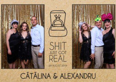 Cabina Foto Showtime - Magic Mirror - Cununie - Catalina & Alexandru - Stephany Ballroom Ramnicu Valcea - Event Factory (3)