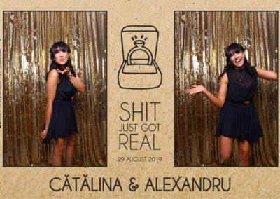 Cabina Foto Showtime - Magic Mirror - Cununie - Catalina & Alexandru - Stephany Ballroom Ramnicu Valcea - Event Factory (30)