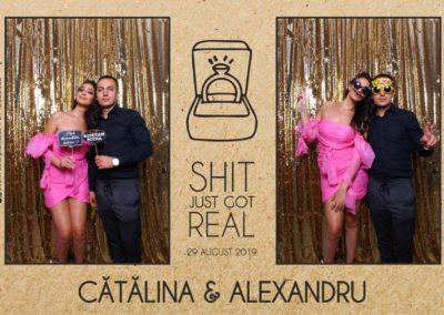 Cabina Foto Showtime - Magic Mirror - Cununie - Catalina & Alexandru - Stephany Ballroom Ramnicu Valcea - Event Factory (31)