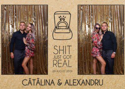 Cabina Foto Showtime - Magic Mirror - Cununie - Catalina & Alexandru - Stephany Ballroom Ramnicu Valcea - Event Factory (34)