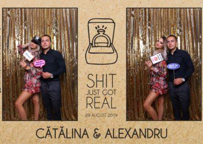 Cabina Foto Showtime - Magic Mirror - Cununie - Catalina & Alexandru - Stephany Ballroom Ramnicu Valcea - Event Factory (35)