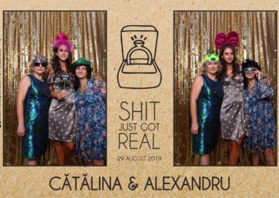 Cabina Foto Showtime - Magic Mirror - Cununie - Catalina & Alexandru - Stephany Ballroom Ramnicu Valcea - Event Factory (5)
