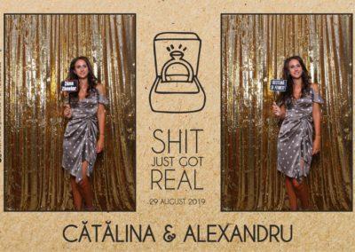 Cabina Foto Showtime - Magic Mirror - Cununie - Catalina & Alexandru - Stephany Ballroom Ramnicu Valcea - Event Factory (6)