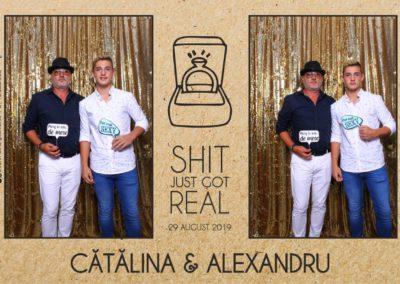 Cabina Foto Showtime - Magic Mirror - Cununie - Catalina & Alexandru - Stephany Ballroom Ramnicu Valcea - Event Factory (7)