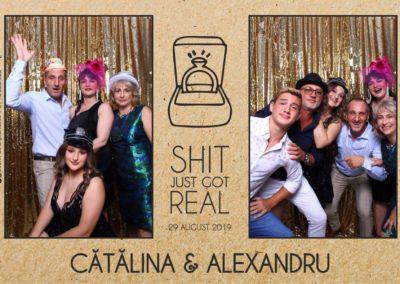 Cabina Foto Showtime - Magic Mirror - Cununie - Catalina & Alexandru - Stephany Ballroom Ramnicu Valcea - Event Factory (8)