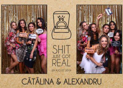 Cabina Foto Showtime - Magic Mirror - Cununie - Catalina & Alexandru - Stephany Ballroom Ramnicu Valcea - Event Factory (9)