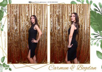 Cabina Foto Showtime - Magic Mirror - Nunta - Carmen & Bogdan - Ok Ballroom Ramnicu Valcea - Event Factory (1)