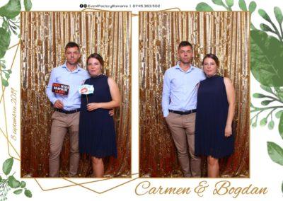 Cabina Foto Showtime - Magic Mirror - Nunta - Carmen & Bogdan - Ok Ballroom Ramnicu Valcea - Event Factory (11)