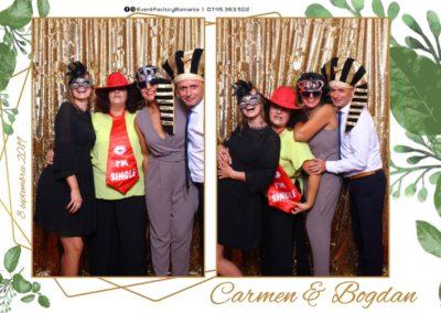 Cabina Foto Showtime - Magic Mirror - Nunta - Carmen & Bogdan - Ok Ballroom Ramnicu Valcea - Event Factory (12)
