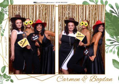Cabina Foto Showtime - Magic Mirror - Nunta - Carmen & Bogdan - Ok Ballroom Ramnicu Valcea - Event Factory (14)