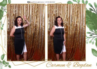 Cabina Foto Showtime - Magic Mirror - Nunta - Carmen & Bogdan - Ok Ballroom Ramnicu Valcea - Event Factory (15)