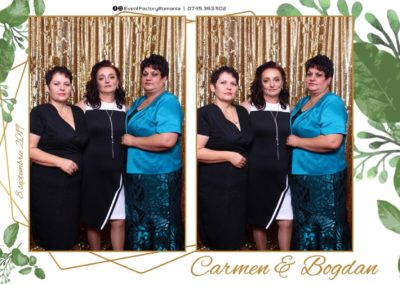 Cabina Foto Showtime - Magic Mirror - Nunta - Carmen & Bogdan - Ok Ballroom Ramnicu Valcea - Event Factory (16)