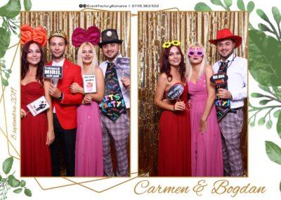 Cabina Foto Showtime - Magic Mirror - Nunta - Carmen & Bogdan - Ok Ballroom Ramnicu Valcea - Event Factory (17)