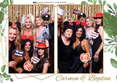 Cabina Foto Showtime - Magic Mirror - Nunta - Carmen & Bogdan - Ok Ballroom Ramnicu Valcea - Event Factory (18)