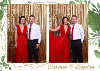 Cabina Foto Showtime - Magic Mirror - Nunta - Carmen & Bogdan - Ok Ballroom Ramnicu Valcea - Event Factory (2)