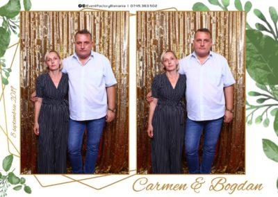 Cabina Foto Showtime - Magic Mirror - Nunta - Carmen & Bogdan - Ok Ballroom Ramnicu Valcea - Event Factory (26)