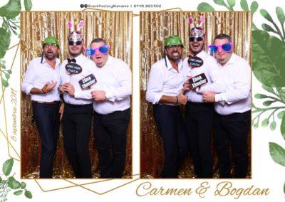 Cabina Foto Showtime - Magic Mirror - Nunta - Carmen & Bogdan - Ok Ballroom Ramnicu Valcea - Event Factory (29)